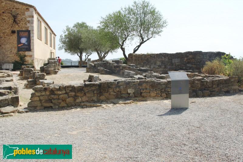 Ullastret - Restes del castell de Sant Andreu