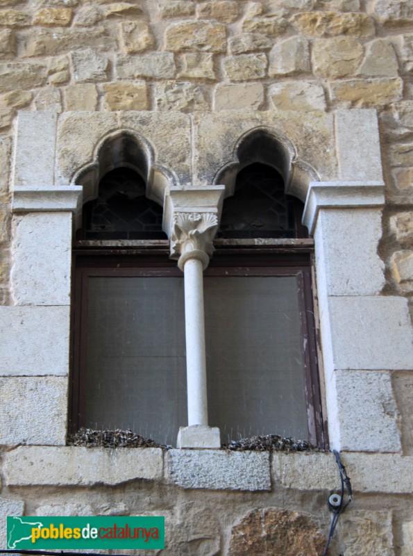 Torroella de Montgrí - Palau Reial (Mirador), detall