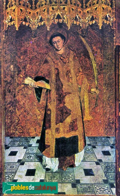 Sant Boi de Llobregat - Església de Sant Baldiri, retaule gòtic