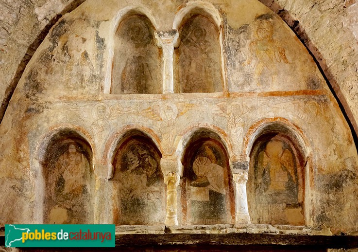 Terrassa - Església de Sant Pere, retaule preromànic