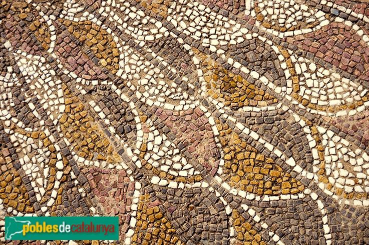 Terrassa - Església de Santa Maria, mosaic