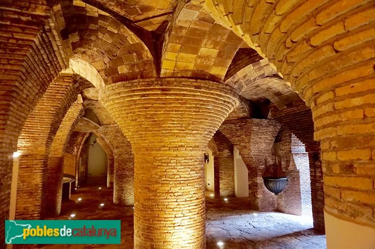 Barcelona - Palau Güel, estables