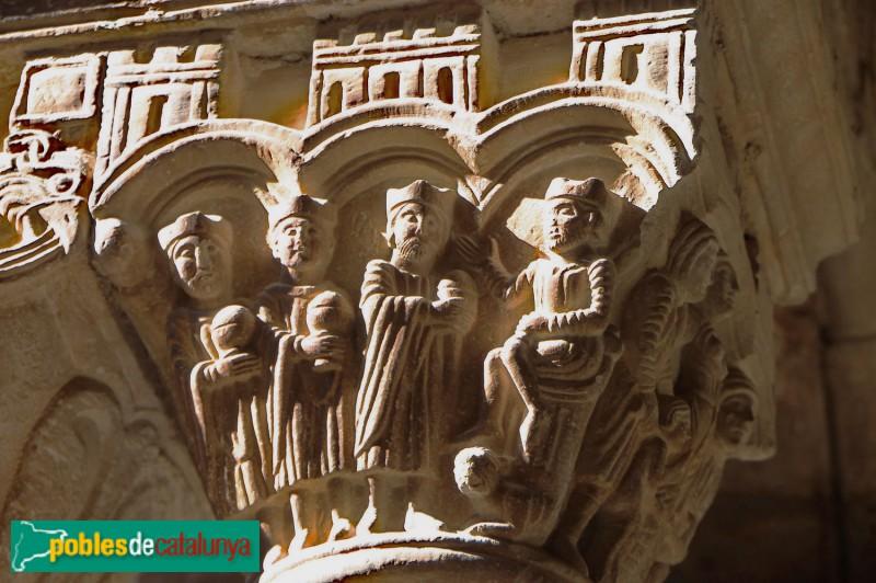L'Estany -Claustre. Mags davant Herodes. Matança dels innocents