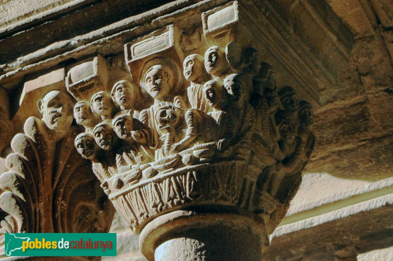 L'Estany -Claustre. Sant Sopar. Lavatori dels peus