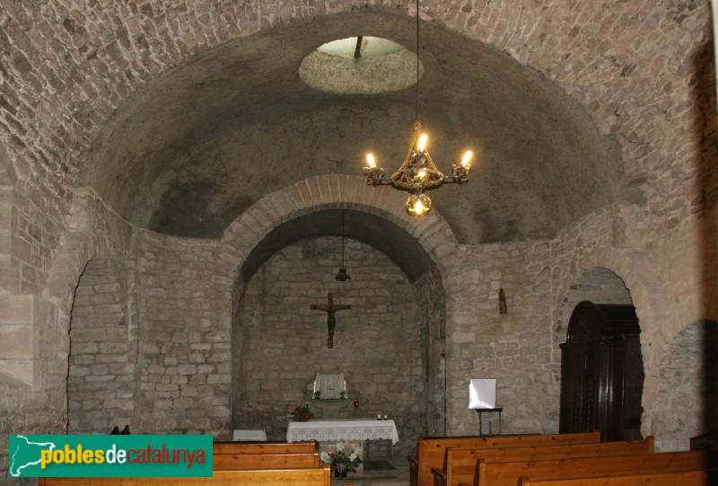 L'Estany - Església del Monestir, capella Fonda