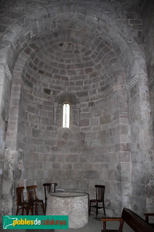 L'Estany - Església del Monestir, absis lateral
