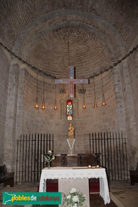 L'Estany - Església del Monestir, presbiteri
