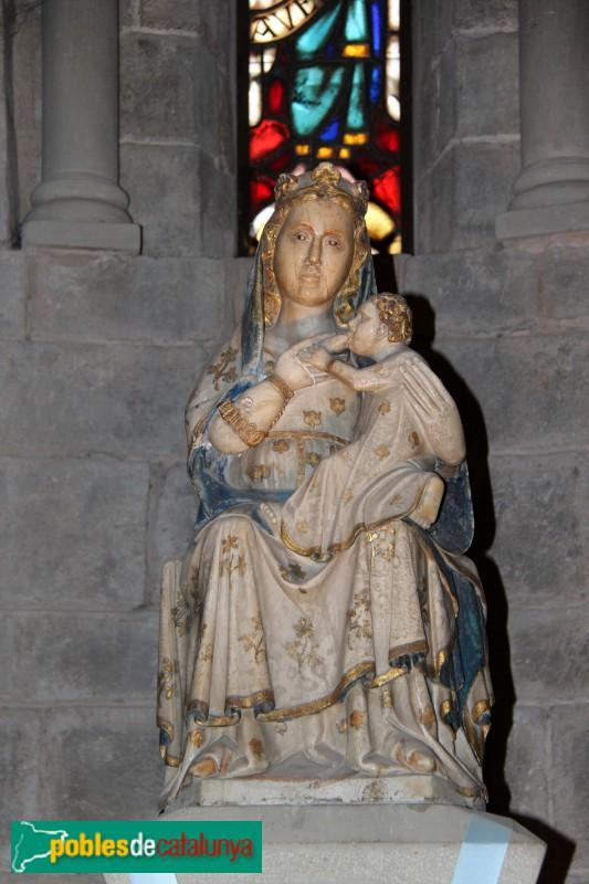 L'Estany - Església del Monestir, Mare de Déu de l'Estany