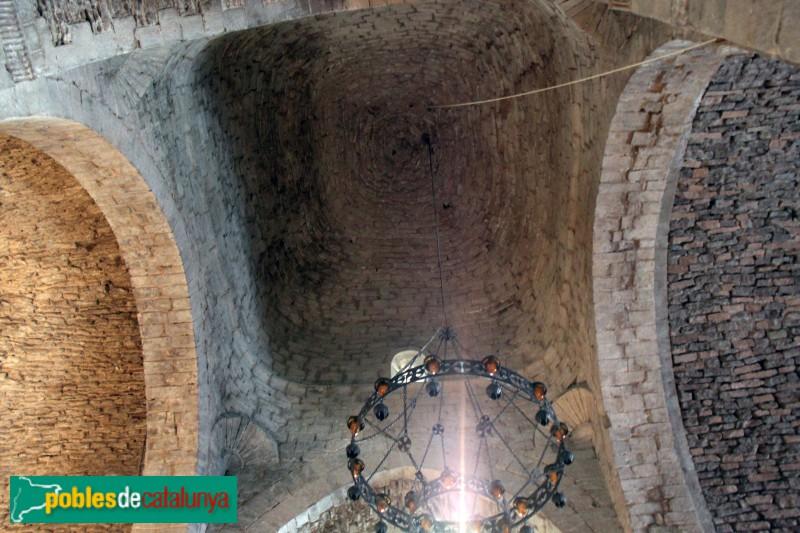 L'Estany - Església del Monestir, creuer