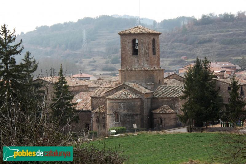 L'Estany - Església del Monestir, capçalera