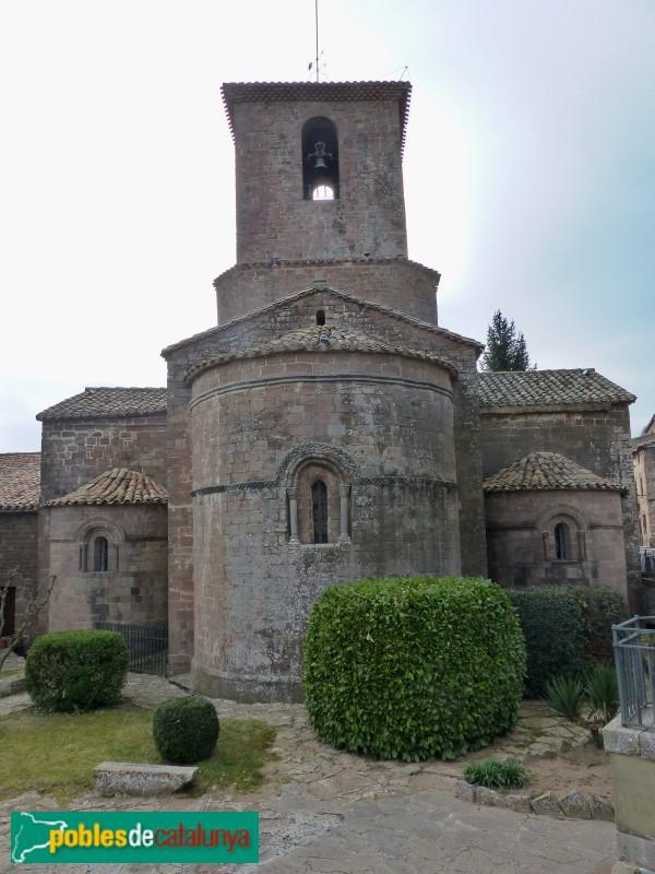 L'Estany - Església del Monestir, absis