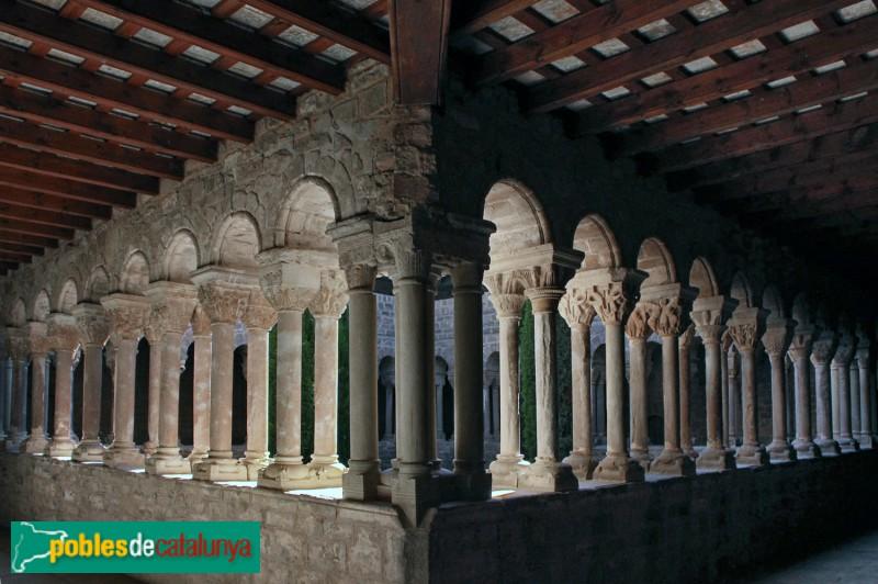 L'Estany - Monestir, claustre