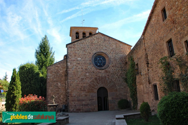 L'Estany - Monestir, església