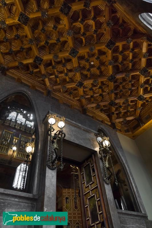 Barcelona - Palau Güell, interior
