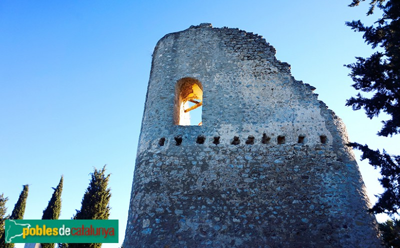 Santa Margarida de Montbui - Castell de Montbui