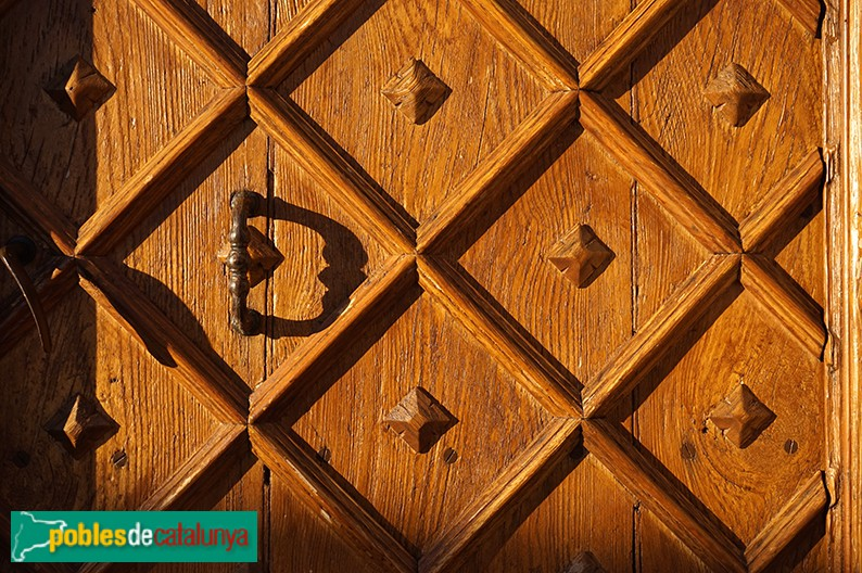 Sant Martí de Tous - Castell de Tous, porta