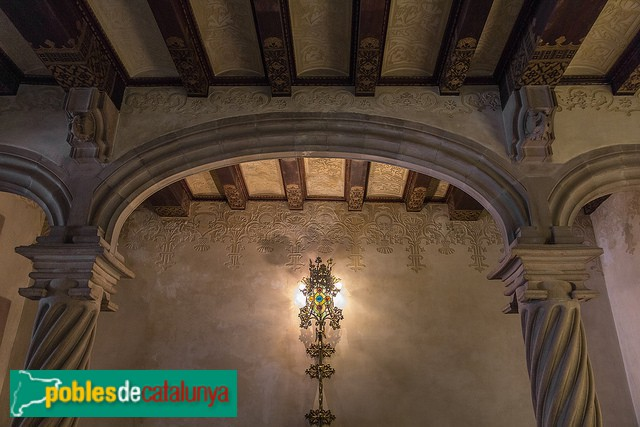Barcelona - Casa Amatller, interior