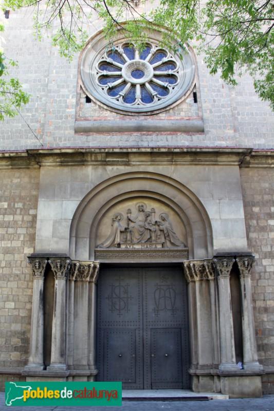 Sant Feliu de Llobregat - Sant Llorenç, façana lateral