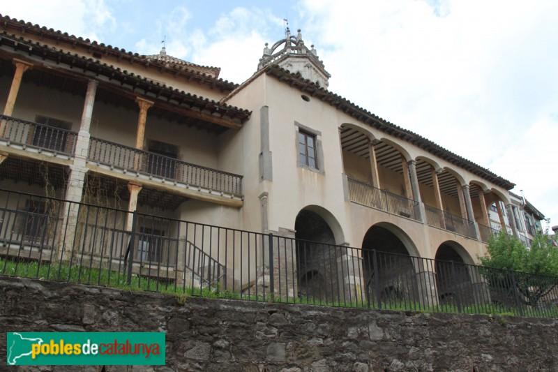 Moià - Casa natal de Rafael Casanova, façana carrer Palau