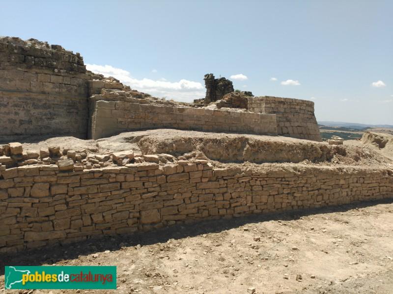 Veciana - Castell de Segur, en procés de restauració