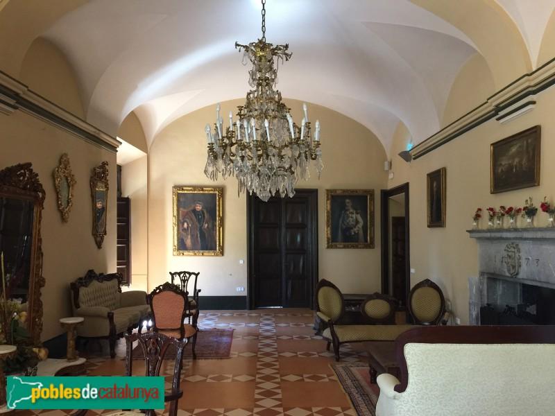 Torroella de Montgrí - Palau Reial (Mirador), interior