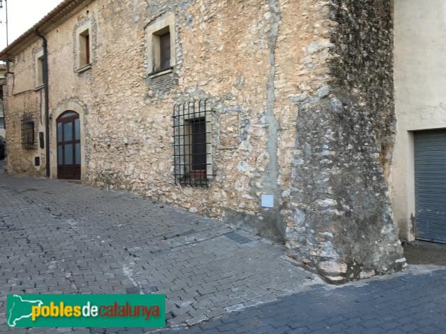 Castellet i la Gornal - Clariana, casa de 1717