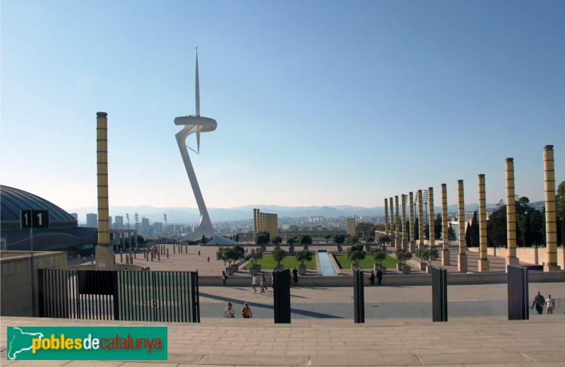 Barcelona - Torre de Comunicacions de Montjuïc