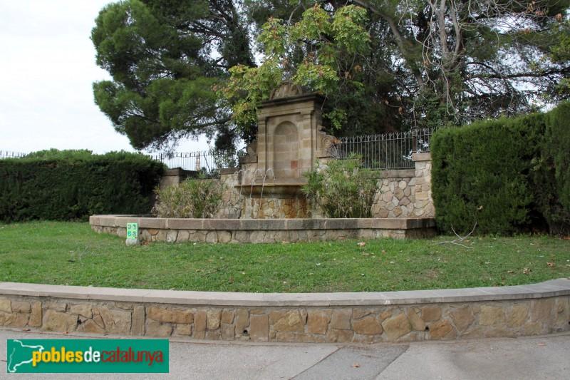 Barcelona - Jardins Joan Maragall, tanca exterior