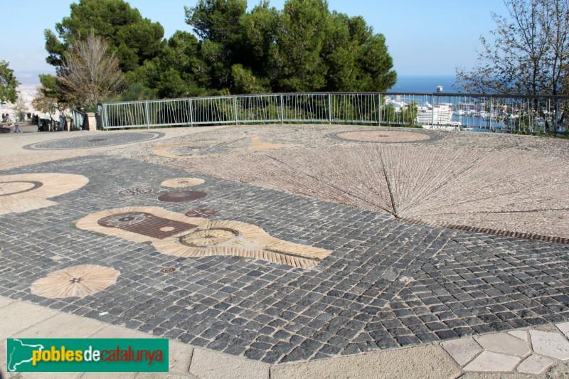 Barcelona - Jardins del Mirador de l'Alcalde