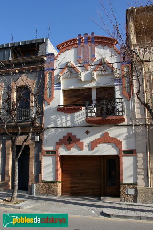 Casa mas barber molins de rei pobles de catalunya - Casas en molins de rei ...