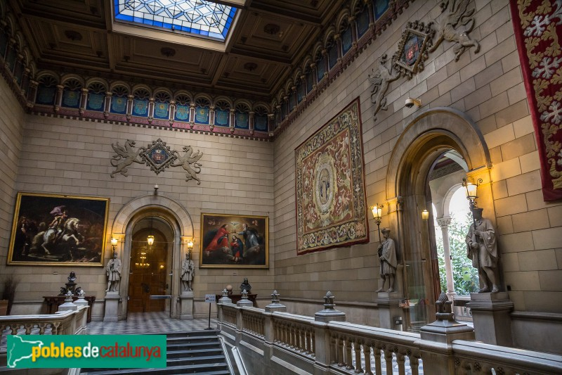 Barcelona - Universitat, planta noble