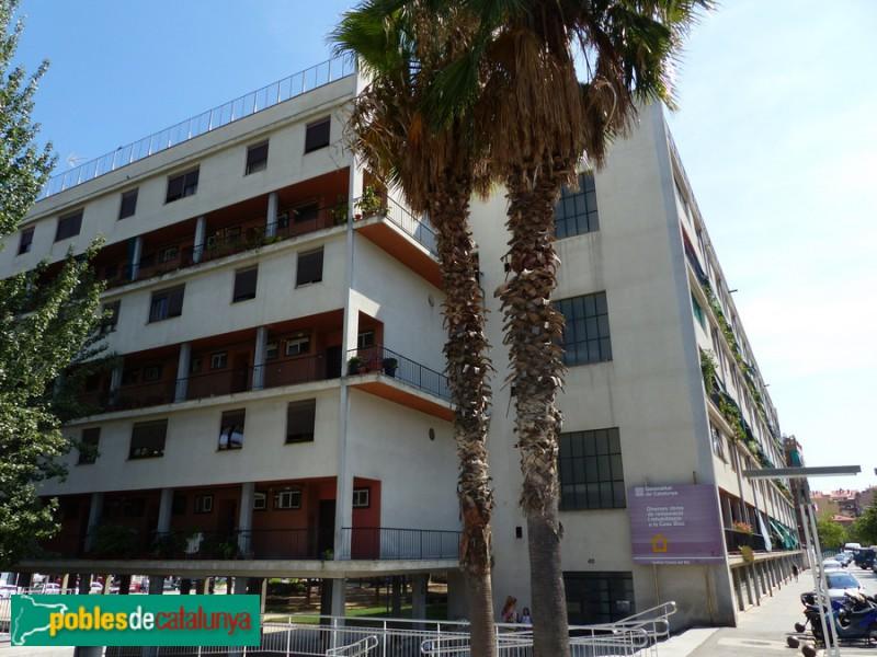 Casa bloc. Façana Lanzarote