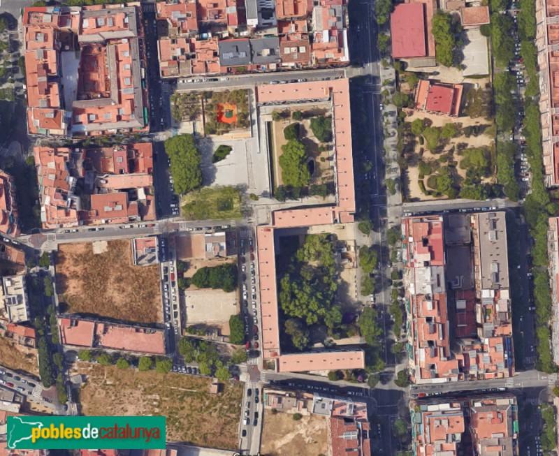Vista des de satèl·lit