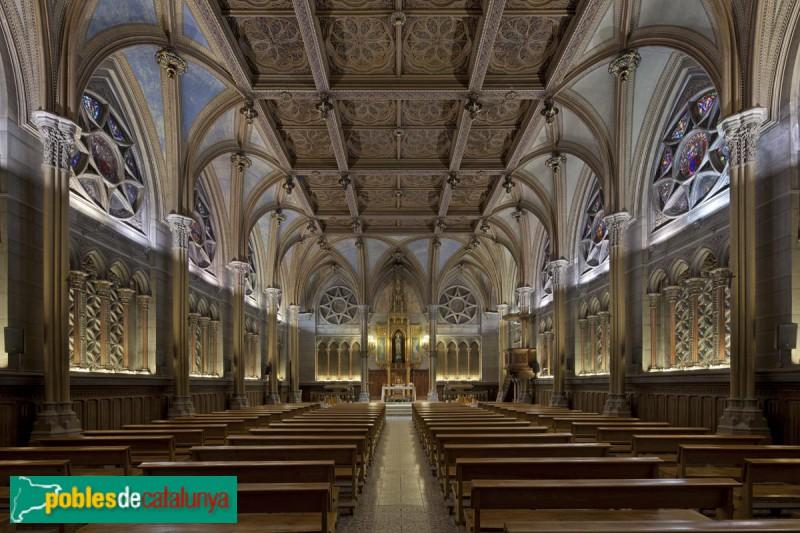Barcelona - Col·legi Sant Ignasi, capella