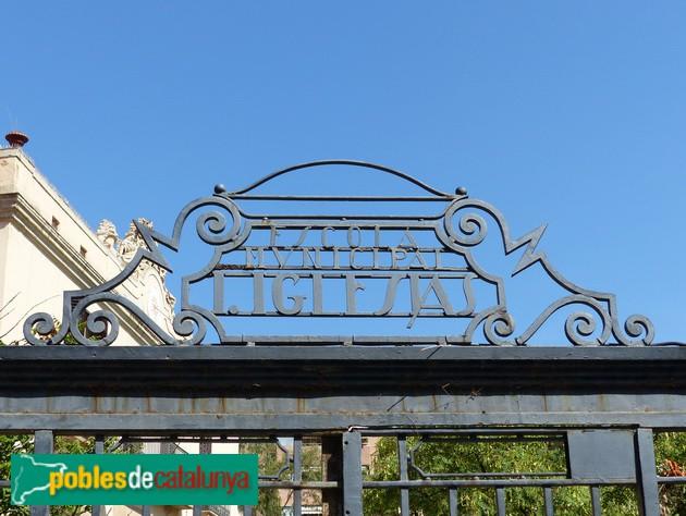 Detall porta d'entrada