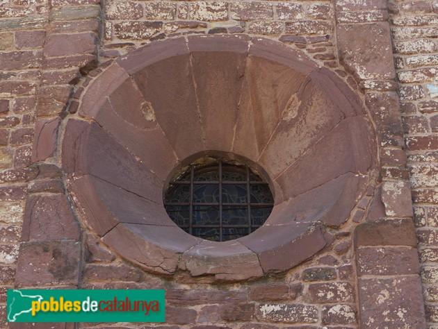 Sant Martí del Brull. Ull de la façana