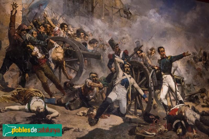 Vilanova i la Geltrú - Biblioteca-Museu Balaguer, Defensa del parc d'artilleria de Monteleón (Sorolla)