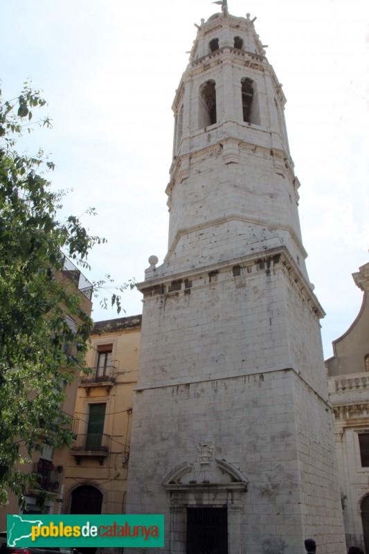 Vilanova i la Geltrú - Campanar de l'església de Sant Antoni Abat