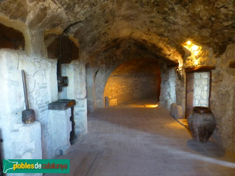 El Papiol - Interior del castell