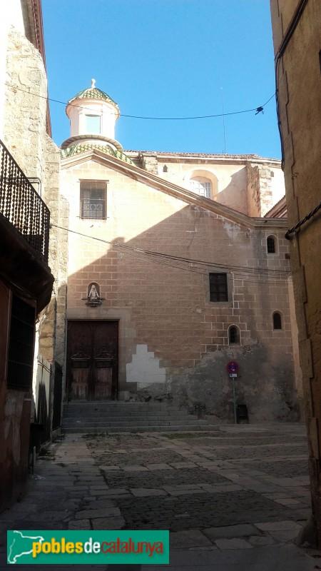 Mataró - Basílica de Santa Maria, façana lateral