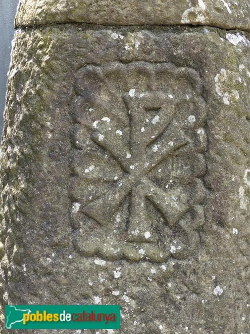 Detall de la creu