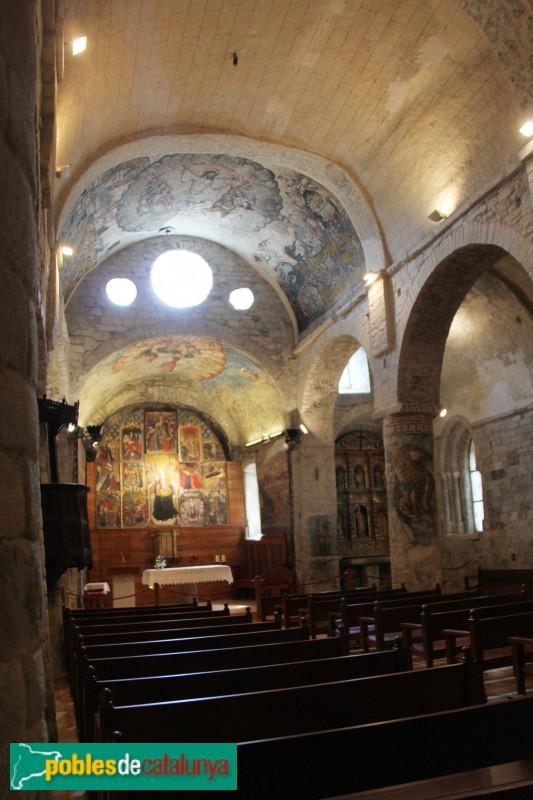 Arties - Església de Santa Maria, interior