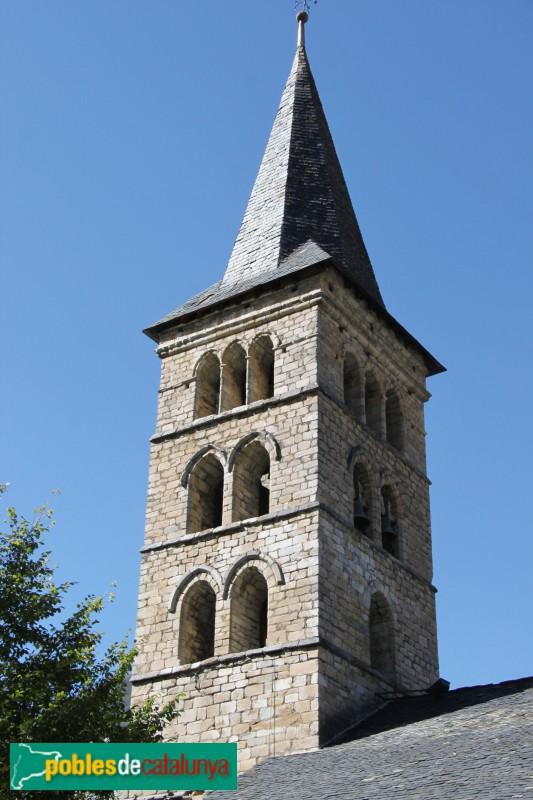 Arties - Església de Santa Maria, campanar