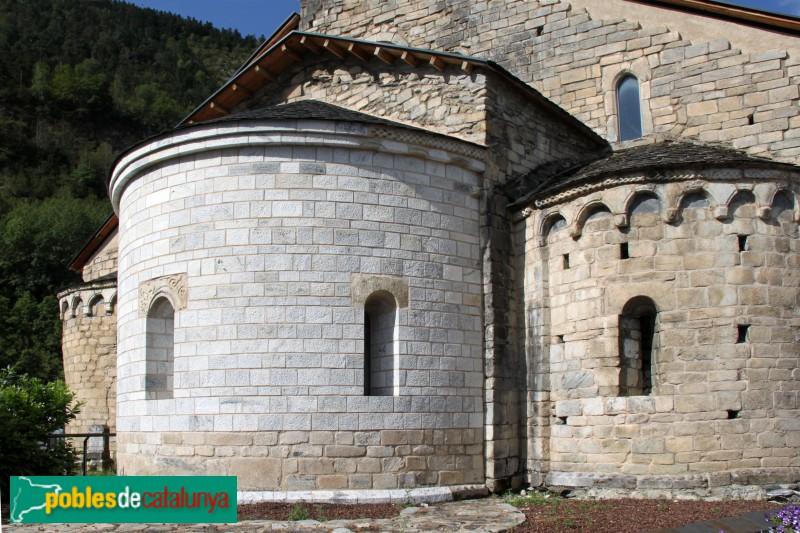 Arties - Església de Santa Maria, capçalera