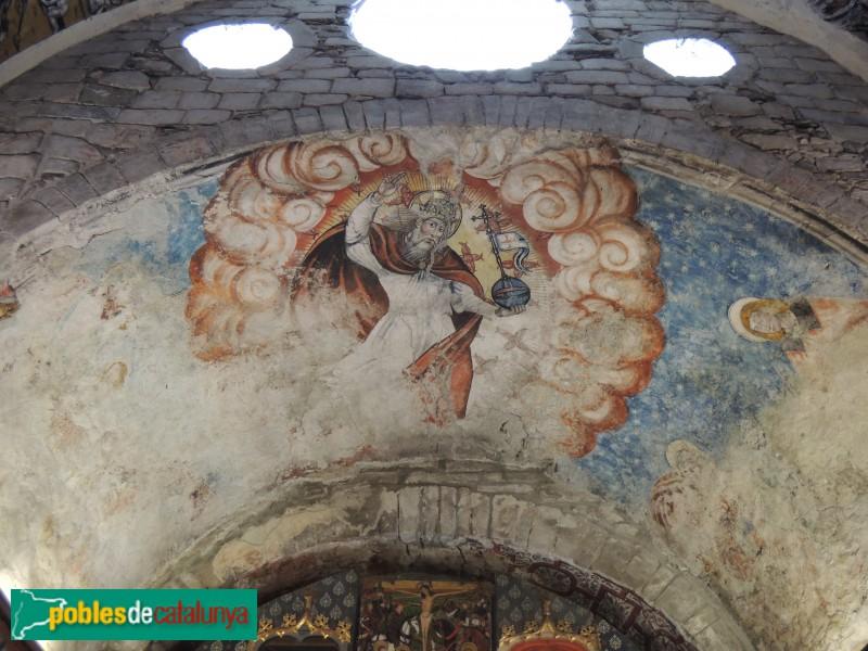 Arties - Església de Santa Maria, pintures del segle XVI