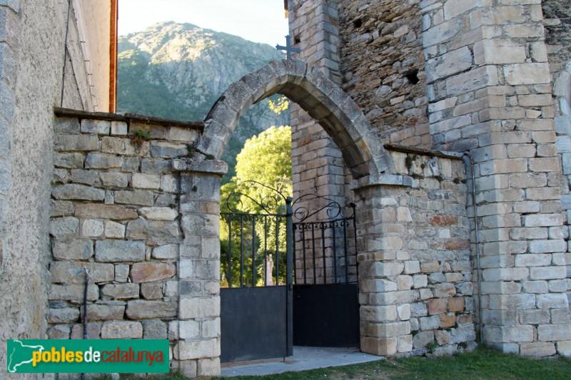 Salardú - Sant Andreu, porta del cementiri