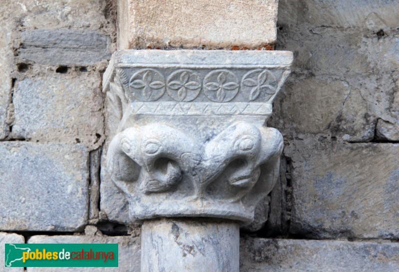 Salardú - Sant Andreu, detall escultòric