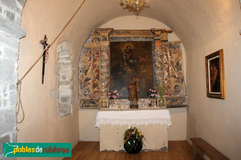 Bagergue - Església de Sant Feliu, capella lateral