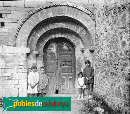 Bagergue - Portada de l'església de Sant Feliu