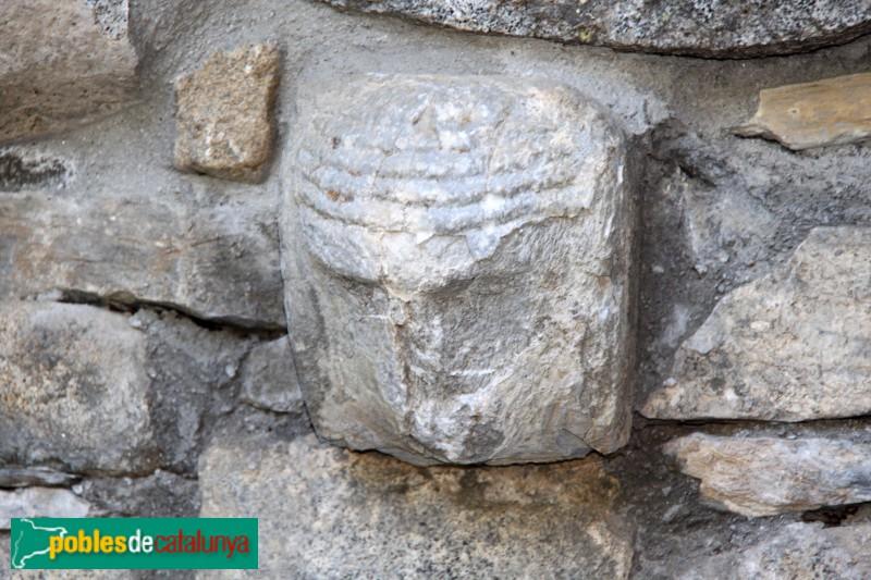 Tredòs - Santa Maria de Cap d'Aran, detall escultòric